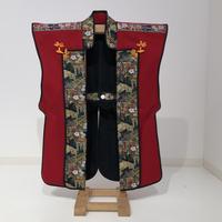 【B-051】陣羽織 (赤羅紗)