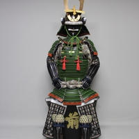 【O-019】古代蓬糸威小札二枚胴具足(こだいよもぎいとおどしこざねにまいどうぐそく)