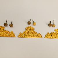アウトレット 飾金具 八双金具 菊鋲付限定販売