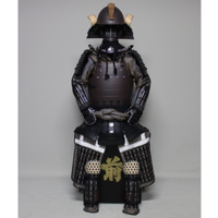 【O-043】黒糸威鉄錆二枚胴具足(くろいとおどしてつさびにまいどうぐそく)