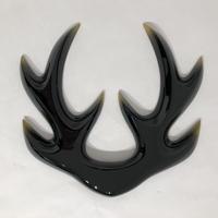 【K-117】前立 四ツ又抱角(黒)