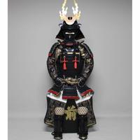【O-016】黒糸威当世小札二枚胴具足(くろいとおどしとうせいこざねにまいどうぐそく)