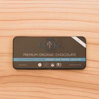 NOX PREMIUM ORGANIC CHOCOLATE -ALMOND&CHIA-