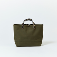 BOAT TOTE|Medium Olive × Black
