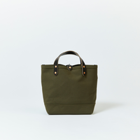 BOAT TOTE|Small Olive × Black