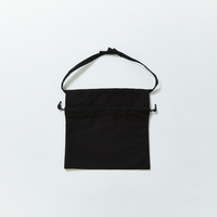 APRON BAG|Black