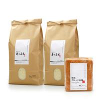 【R.元年度産】寿々喜米10kg & そねっ子味噌のセット