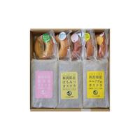 しばうま本舗(聖籠町)さんの  ドーナツ5個・カステラ3個セット