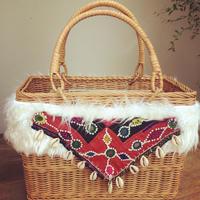 Basket square bag