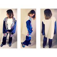 Kimono gown coat