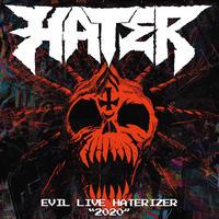 """HATER - EVIL LIVE HATERIZER""""2020"""" [CD]"""