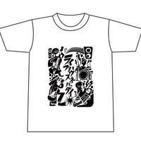 ライブハウスネバーダイ プロジェクト第2弾「スドウPユウジデザインTシャツ(ブラザー販売株式会社)」(Body Color:White)