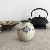 やちむん(沖縄陶器)ミニ花瓶