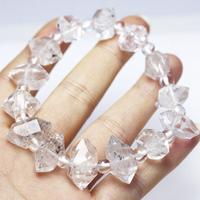 【心願成就】☆ヒマラヤ両剣水晶のブレスレット☆ 大粒
