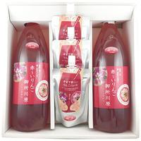 ●中まで赤〜いりんごジュース 大瓶1000ml╳2 ●中まで赤〜いりんごジュース パウチ130ml╳3
