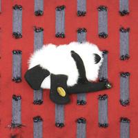 【受注生産納期約2週間】Sleep panda brooch