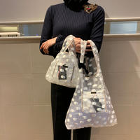 Dot market bag(L)
