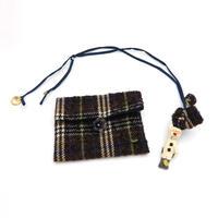 Wool mini doll & pouch -27