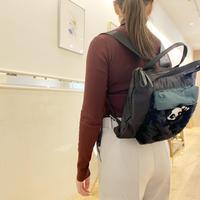 Fur backpack