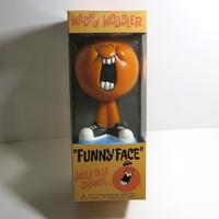 Funko -Wacky Wobbler-Bobble Head(ボビングヘッド):ファニーフェイス  オレンジ
