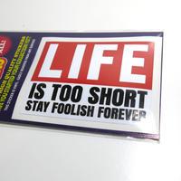 ステッカー :LIFE