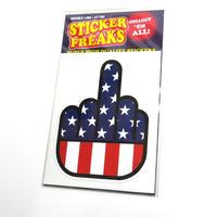 ステッカー:USA FUCK