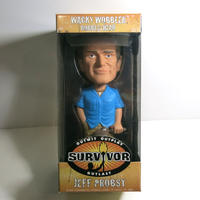 Funko -Wacky Wobbler-Bobble Head(ボビングヘッド):SURVIVOR.  JEFF PROBST