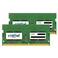 DDR4-2400 ノート用メモリ 260pin SO-DIMM 16GB 2枚組動作確認済セット。