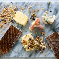 「カノーブル・グルマン」セット(5月30日以降の発送)大人が楽しむ夜のバター。ゴルゴンゾーラ・フィグ&木の実と干しぶどうとプロシュット