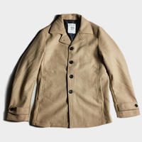 WOOL MELTON SINGLE COAT