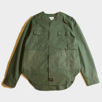 NO COLLAR MILITARY SHIRTS