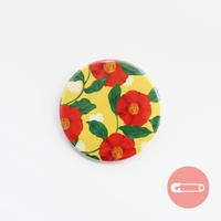 花柄テキスタイル_つばき【54mm】