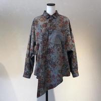"""""""-shirt"""" flower pattern shirt"""