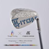 Designtuning × MTG STUDIOコラボ! ITOBORI削出しウェッジ / ロフト56°(ミラーボロンブルー)