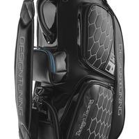 [限定モデル] 9型キャディーバッグ■ブラックエンボス(2021年モデル)