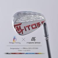 Designtuning × MTG STUDIOコラボ! ITOBORI削出しウェッジ / ロフト58°(クロムミラーレッド)
