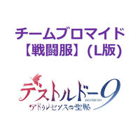 チームブロマイド(L版)【戦闘服】【アドゥレセンスの聖戦】