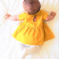 黄色黄色のワンピース