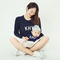 親子長袖トレーナー / パパ+ママ+お子さま 3点SET