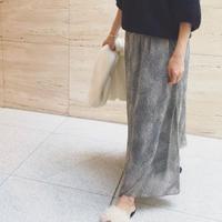 シフォンマキシスカート