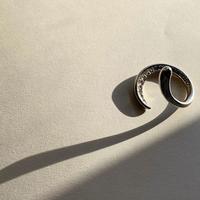 Leaf Ring (diamonds)