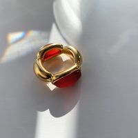Division Ring (carnelian)