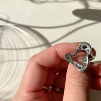 Floral Ring (tourmaline)