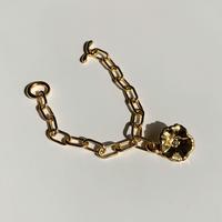 Petunia Bracelet (green tourmaline)