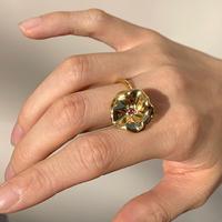 Petunia Ring (pink tourmaline)