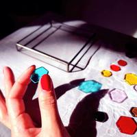 【一般の方用】光と色の【オリジナル・カラーセラピーツール】光の箱+ヘキサゴン
