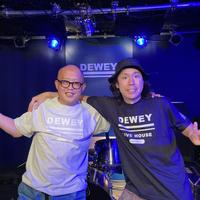 【DEWEY10周年】10周年ロゴ入りTシャツ