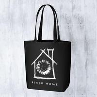 【 black home 】キャンバストートバッグ