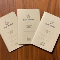 ダイアログノート(3冊パック)|DN001(方眼)