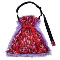 YU LIN CHI|shoulder kinchaku fur bag [DW19-220]